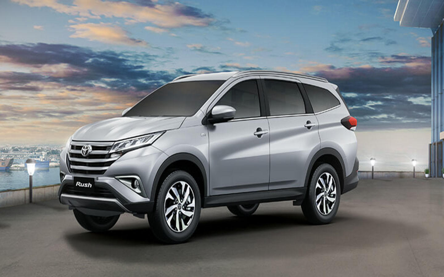 The New Toyota Rush Is Designed With An Exceptional